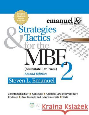 Strategies and Tactics for the MBE II Steven Emanuel 9781454809937