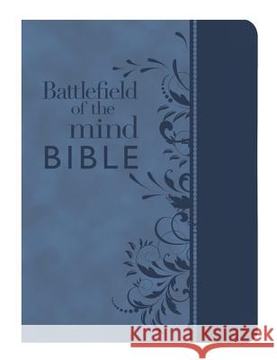 Battlefield of the Mind Bible: Renew Your Mind Through the Power of God's Word Joyce Meyer 9781455595334