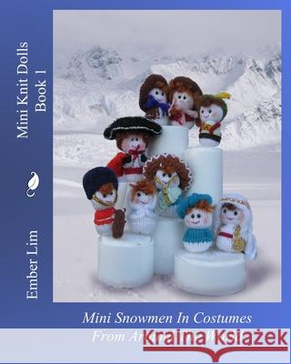Mini Knit Dolls Book 1 Ember Lim 9781461046677