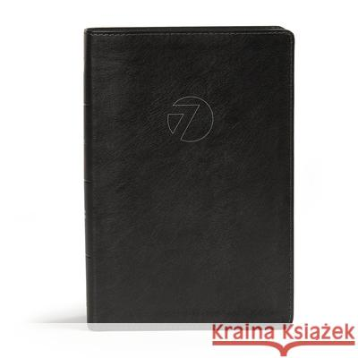 CSB Seven Arrows Bible, Black Leathertouch: The How-To-Study Bible for Students Csb Bibles by Holman                     Matt Rogers 9781462790746