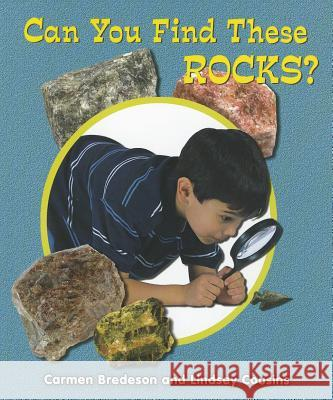 Can You Find These Rocks? Carmen Bredeson Lindsey Cousins 9781464400667