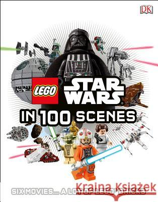 Lego Star Wars in 100 Scenes: 6 Movies . . . a Lot of Lego(r) Bricks  9781465434371