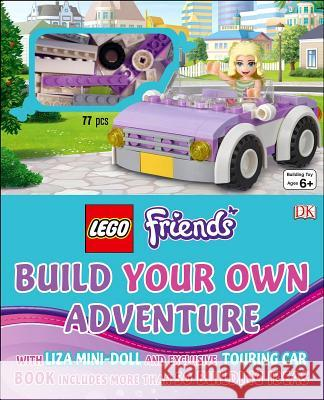 Lego Friends: Build Your Own Adventure: With Lisa Mini-Doll and Exclusive Touring Car  9781465435897