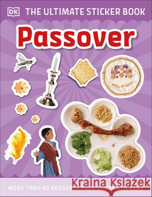 Ultimate Sticker Book Passover DK 9781465494856