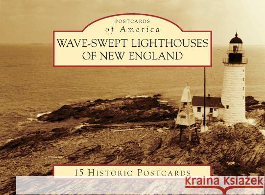Wave-Swept Lighthouses of New England Jeremy D'Entremont 9781467129350