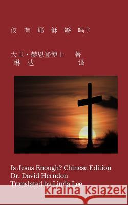 Is Jesus Enough? Chinese Edition Dr David M. Herndon Linda Lee 9781469909578