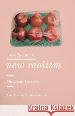 Introduction to New Realism Maurizio Ferraris 9781472595942
