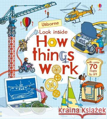 Look Inside How things Work Lloyd Jones, Rob 9781474936576