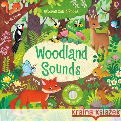 Woodland Sounds, w. Sound Panel Taplin Sam 9781474936811