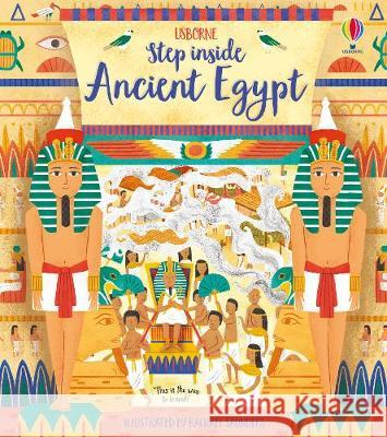 Step Inside Ancient Egypt Rob Lloyd Jones 9781474952972