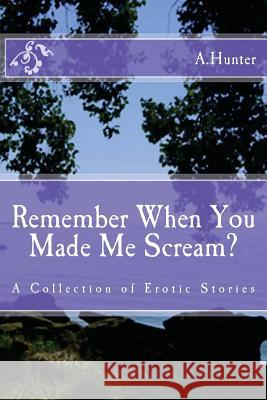 Remember When You Made Me Scream?: A Collection of Erotic Stories A. Hunter 9781478280552