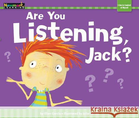 Are You Listening, Jack? Julia Patton 9781478804727