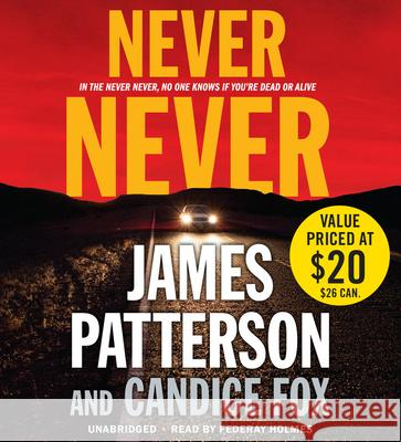Never Never - audiobook James Patterson Candice Fox 9781478944812