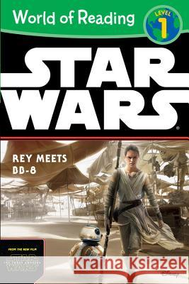 World of Reading Star Wars the Force Awakens: Rey Meets BB-8: Level 1 Disney Book Group 9781484704806