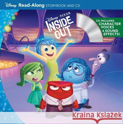 Inside Out Read-Along Storybook and CD Disney Storybook Art Team 9781484712795