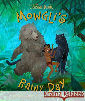 The Jungle Book: Mowgli's Rainy Day Disney Book Group 9781484725788