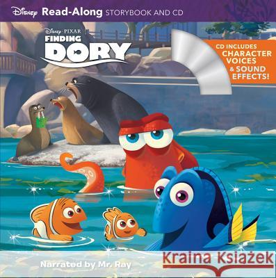 Finding Dory [With Audio CD] Disney Storybook Art Team 9781484725863