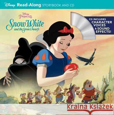 Snow White and the Seven Dwarfs [With Audio CD] Disney Storybook Art Team 9781484730492
