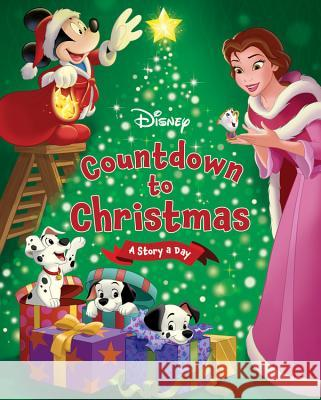 Disney's Countdown to Christmas: A Story a Day Disney Storybook Art Team 9781484730522