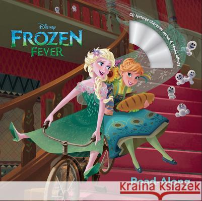 Frozen Fever Read-Along Storybook and CD Disney Storybook Art Team 9781484741979
