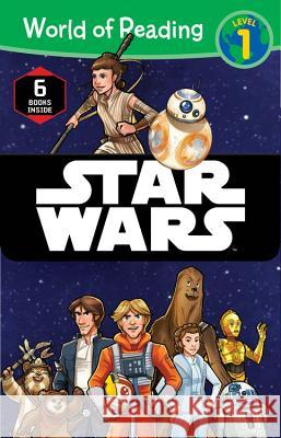 World of Reading Star Wars Boxed Set: Level 1 Disney Book Group 9781484780220