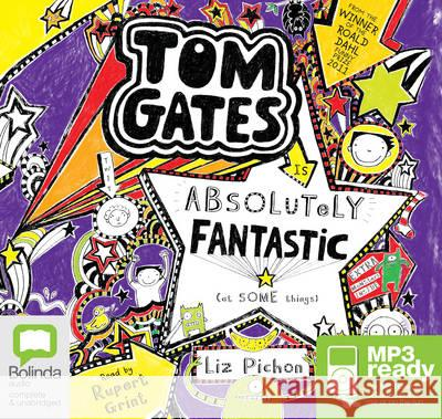 Tom Gates is Absolutely Fantastic (At Some Things) Liz Pichon 9781489022073