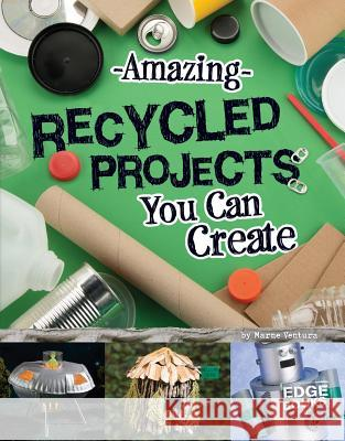 Amazing Recycled Projects You Can Create Marne Ventura 9781491442920