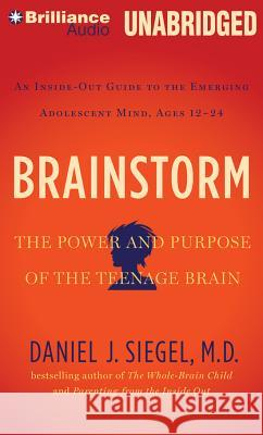 Brainstorm: The Power and Purpose of the Teenage Brain: An Inside-Out Guide to the Emerging Adolescent Mind, Ages 12-24 - audiobook Daniel J. Siegel Daniel J. Siegel Daniel J. Siegel 9781491513361
