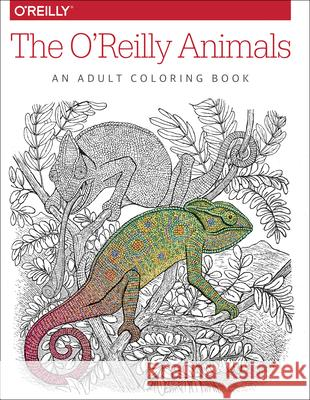 The O'Reilly Animals: An Adult Coloring Book  9781491955963