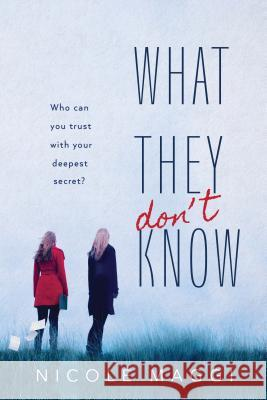What They Don't Know Nicole Maggi 9781492672654