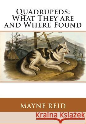 Quadrupeds: What They Are and Where Found Mayne Reid 9781495406997