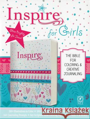 Inspire Bible for Girls NLT  9781496426611