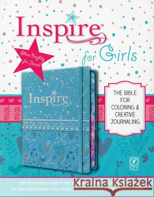 Inspire Bible for Girls NLT  9781496426659