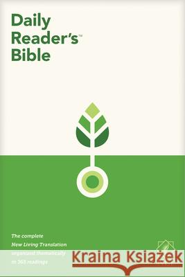 NLT Daily Reader's Bible (Softcover) Tyndale 9781496448286