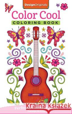 Color Cool Coloring Book: Perfectly Portable Pages Thaneeya McArdle 9781497201774