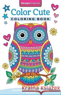 Color Cute Coloring Book: Perfectly Portable Pages Jess Volinski 9781497202382