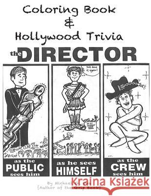 Coloring Book & Hollywood Trivia: Hollywood Coloring Book with Trivia MR Michael G. Uva 9781502325112
