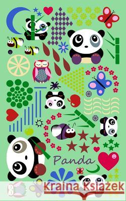 Panda: Gifts / Gift / Presents ( Panda Bear / Owl / Butterfly & Bee Notebook ) Smart Bookx 9781502475305