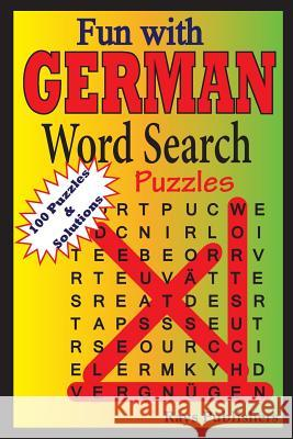Fun with German - Word Search Puzzles Rays Publishers 9781505703801