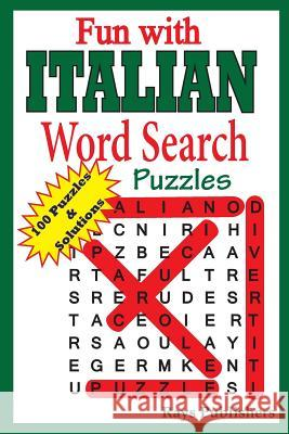 Fun with Italian - Word Search Puzzles Rays Publishers 9781505887938