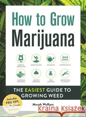 How to Grow Marijuana: The Easiest Guide to Growing Weed Murph Wolfson 9781507212585