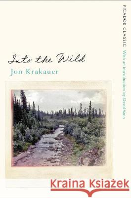 Into the Wild Jon Krakauer   9781509877010