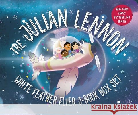 Julian Lennon White Feather Flier 3-Book Box Set Julian Lennon Bart Davis Smiljana Coh 9781510746732