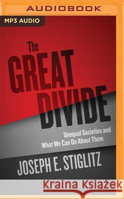 The Great Divide: Unequal Societies and What We Can Do about Them - audiobook Joseph E. Stiglitz Kevin Pariseau 9781511321112