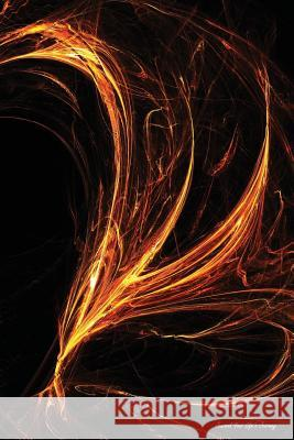 Journal Your Life's Journey: Fire Style Fractal Flames, Lined Journal, 6 X 9, 100 Pages Journal You Blank Boo 9781515245971