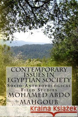 Contemporary Issues in Egyptian Society: Socio-Anthropological Field Studies Mohamed Abdo Mahgou 9781515340942
