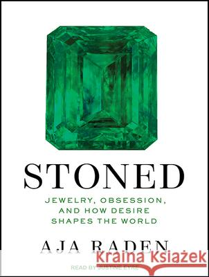 Stoned: Jewelry, Obsession, and How Desire Shapes the World - audiobook Aja Raden Justine Eyre 9781515953166