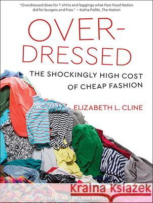 Overdressed: The Shockingly High Cost of Cheap Fashion - audiobook Elizabeth L. Cline Amy Melissa Bentley 9781515966791 Tantor Audio