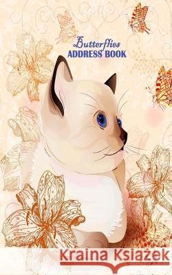 Butterflies Address Book: Pocket Size Address Book Ciparum LLC 9781517216245 Createspace