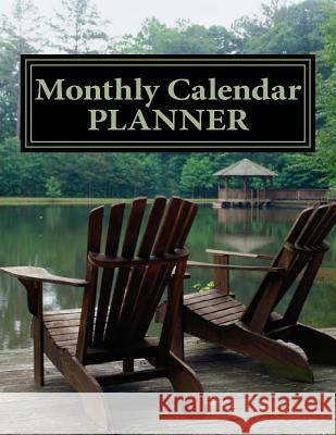 Monthly Calendar Planner: January 2016 to June 2017 Rose Montgomery 9781517284657